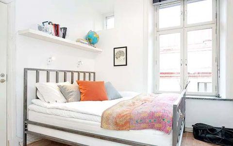 精致卧室背景墙构造图