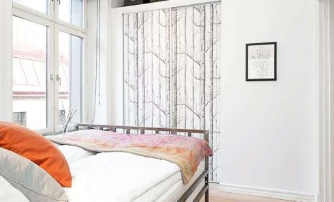 眩亮白色背景墙装饰效果图