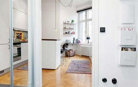 纯净白色厨房家装设计