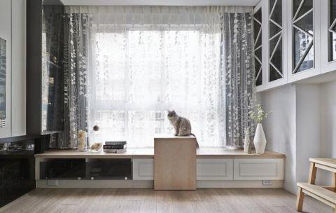 低调优雅简约米色飘窗设计方案