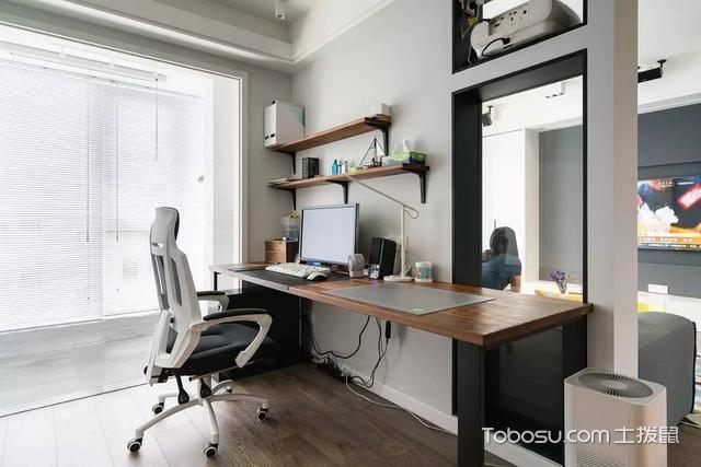 83平米小户型简约风格室内装修设计