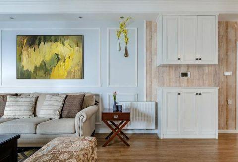 客厅背景墙混搭装饰实景图片