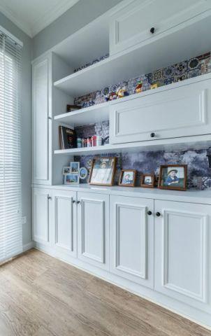 格调咖啡色书房室内装饰