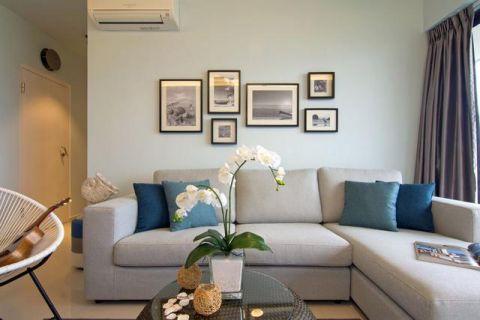 质朴灰色照片墙平面图