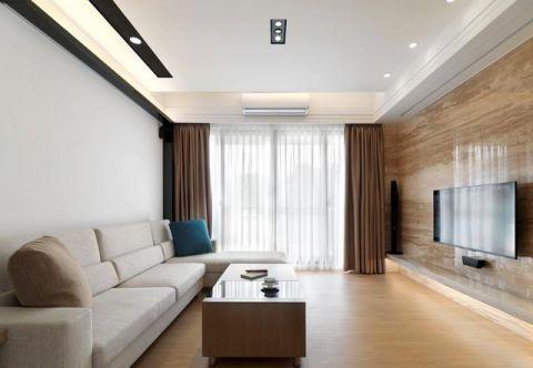 现代简约风格小户型120平米家装设计