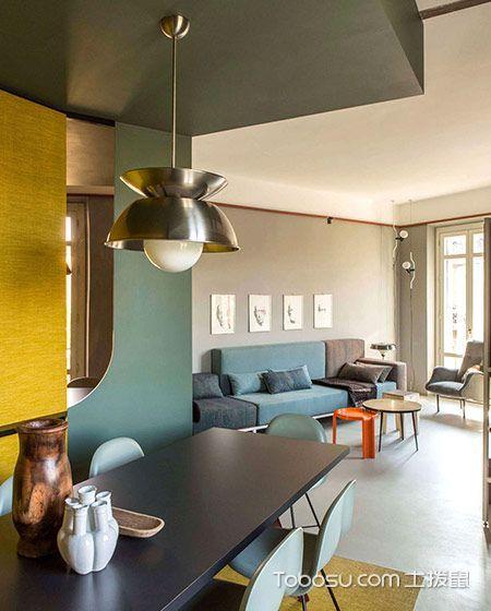 80平米公寓简约风格设计图欣赏