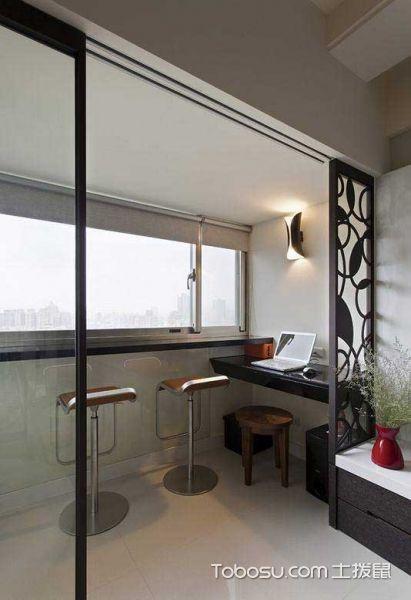90平温馨现代三居装修设计_装修图片