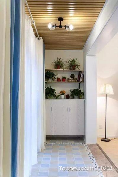 90平清新格调的三室两厅_装修图片 - 装修效果图