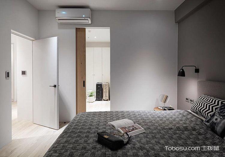 90平米开放式粉彩色北欧风幸福宅_装修图片