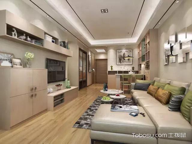 三居室111平米现代简约风格设计方案