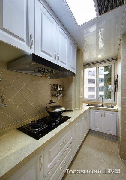 2019现代欧式厨房装修图 2019现代欧式橱柜装修效果图片