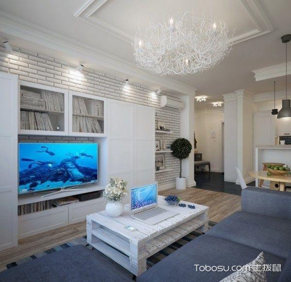 89平两居室清新现代风_装修图片