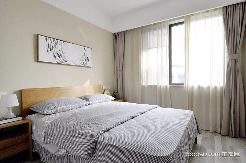 2019简约卧室u乐娱乐平台设计图片 2019简约窗帘u乐娱乐平台设计图片
