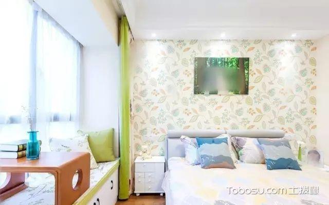 89平米现代简约阳光绿色小清新_装修图片