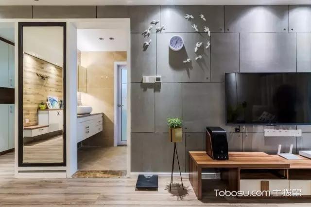2019北欧客厅装修设计 2019北欧电视背景墙装修设计图片