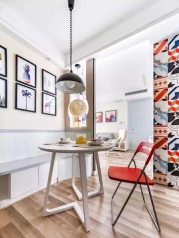 现代简约风格小户型88平米家装设计