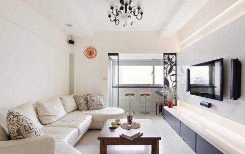 89平米小户型现代风格室内装修设计