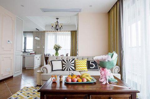 客厅灰色沙发案例图