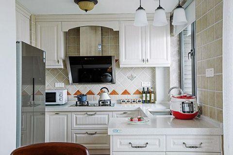 沉稳米色厨房装饰设计图片