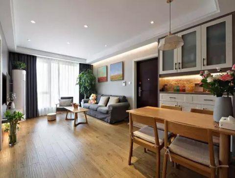 三居室102平米现代简约风格装修