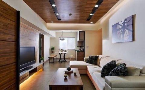 现代客厅装修案例图片