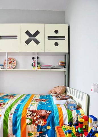 2019现代儿童房装饰设计 2019现代背景墙装修图