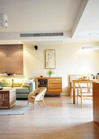 2019现代中式客厅装修设计 2019现代中式背景墙图片