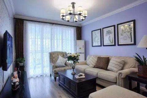 纯净客厅简约装潢设计图片