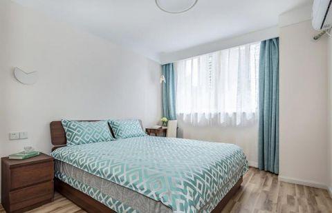卧室窗帘北欧装修效果图
