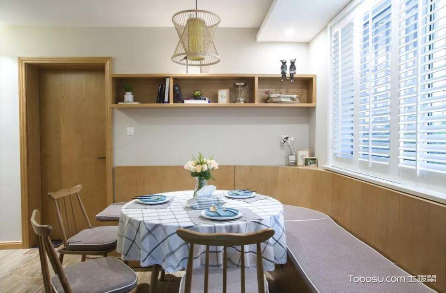 日式风格小户型85平米家装设计