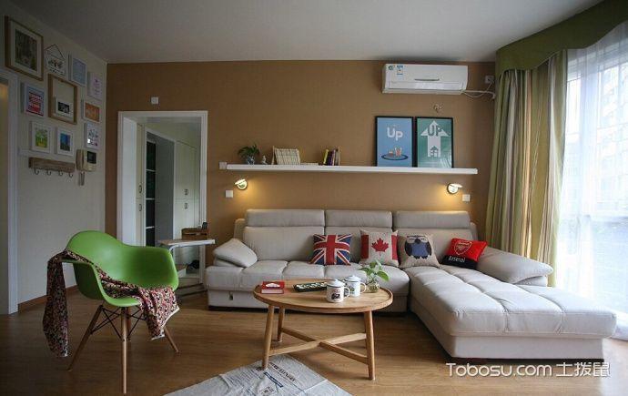 87平米小户型简约风格室内装修图片