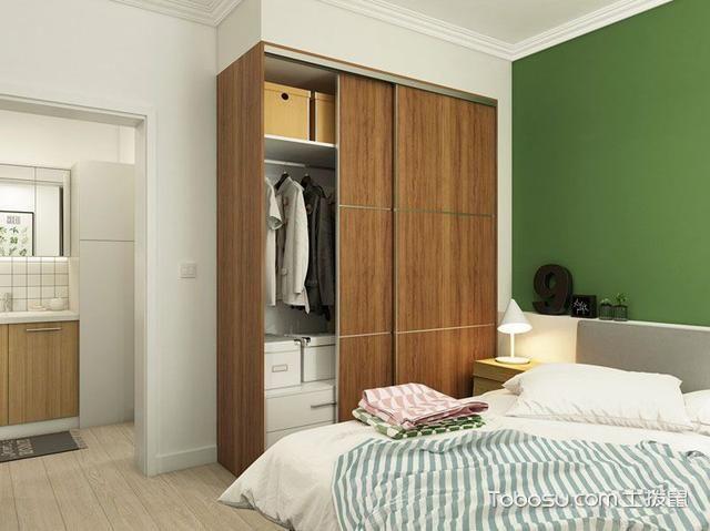 2020宜家卧室装修设计图片 2020宜家衣柜装修效果图片