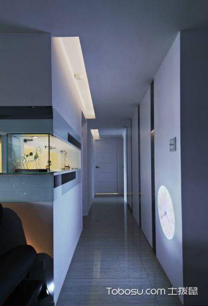 85平米欧式三居设计效果图_装修图片