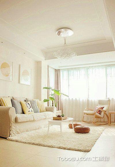 85平简约风两居室,享受冬日的温暖阳光_装修图片