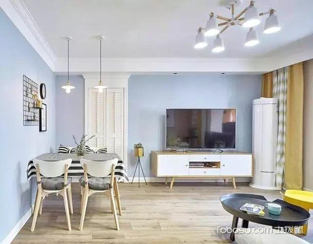 82平北欧风格两居室,清爽大气_装修图片