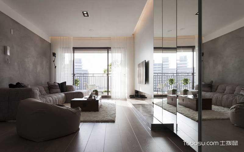 現代風格公寓83平米案例圖片