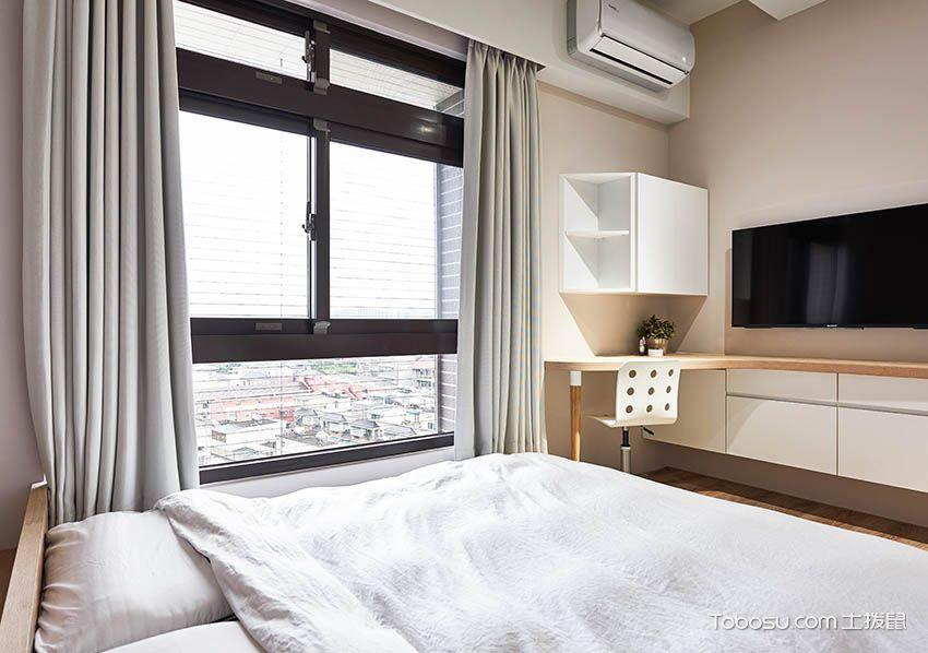 2020现代中式卧室装修设计图片 2020现代中式窗帘装修设计图片
