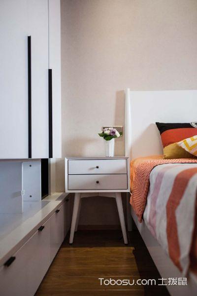 2020简约卧室装修设计图片 2020简约床头柜装修设计图片