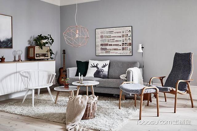 2019北欧70平米设计图片 2019北欧公寓装修设计