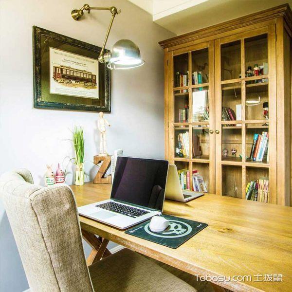 2020混搭书房装修设计 2020混搭书桌图片
