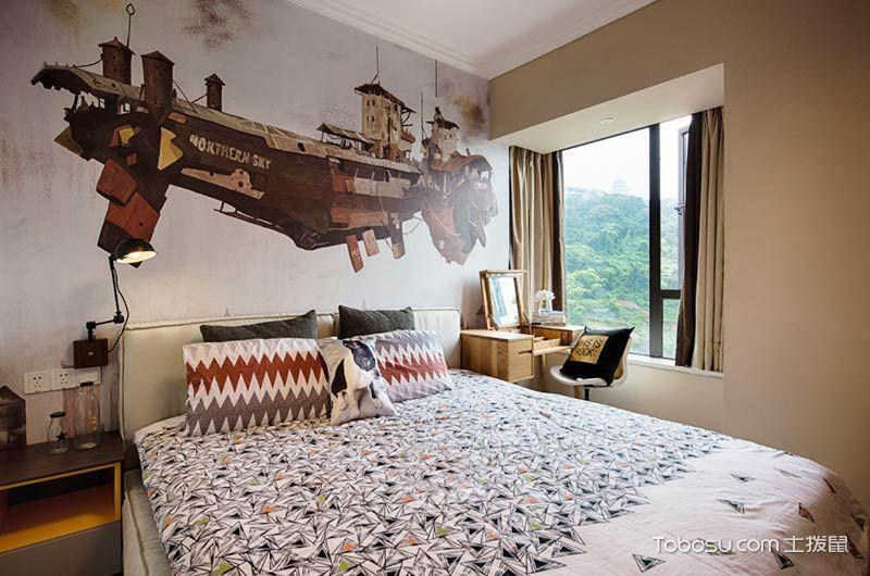 70平北欧风格两室两厅装修设计_装修图片