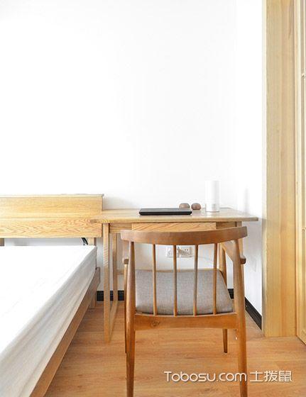 2019现代简约卧室装修设计图片 2019现代简约书桌装修图