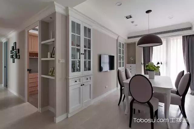 2019美式厨房装修图 2019美式推拉门装修设计