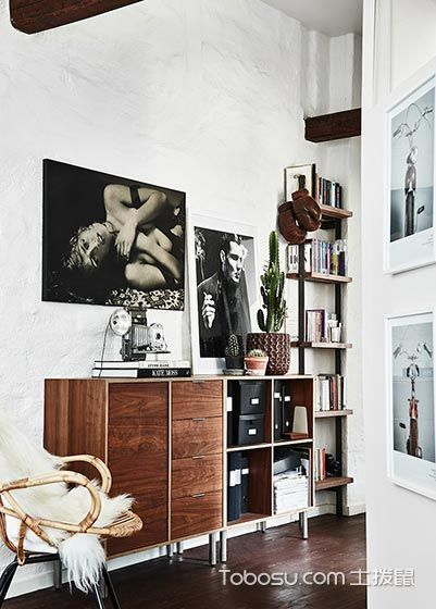 2019北欧客厅装修设计 2019北欧照片墙装修效果图大全