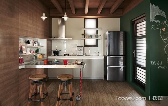 2020混搭厨房装修图 2020混搭灶台装修图片