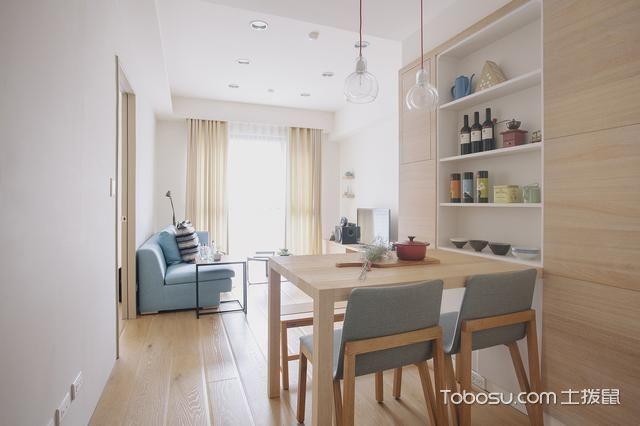 日式风格二居室90平米装修