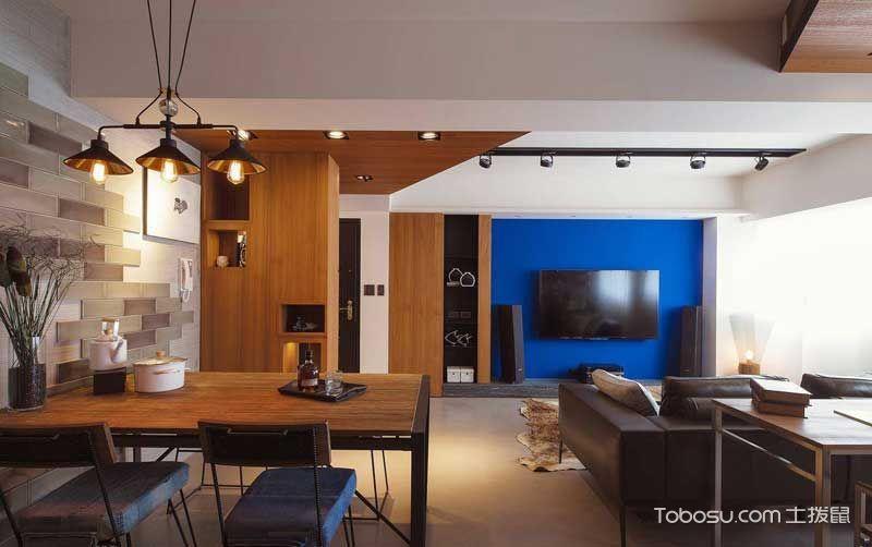 2020工业70平米设计图片 2020工业一居室装饰设计