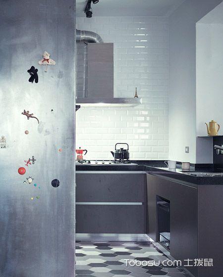 2020工业厨房装修图 2020工业背景墙装修效果图大全