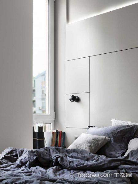 2020现代卧室装修设计图片 2020现代床头柜装修设计图片