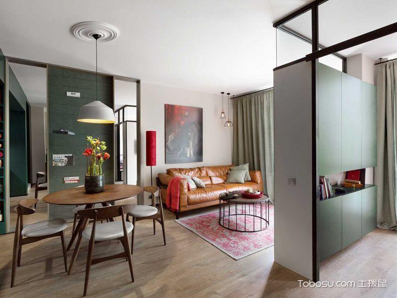 75平米二居室现代风格装修